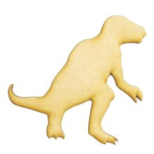 3mm MDF Wood Laser Cut Craft Shapes - Iguanodon
